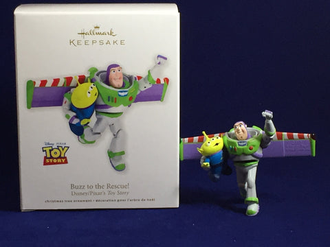 Buzz Lightyear To the Rescue 2012 Hallmark Ornament