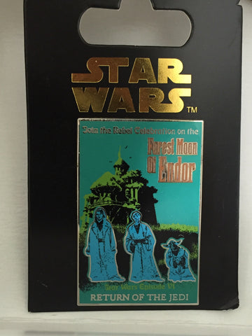 Forest Moon of Endor Return of the Jedi Haunted Mansion pin