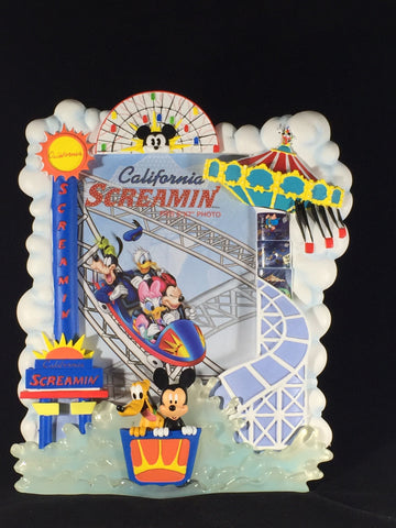 California Screamin' Disney's California Adventure Attraction Frame
