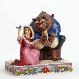 Something There (Beauty and the Beast) Jim Shore Winter Figure