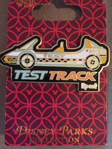 Test Track Pin