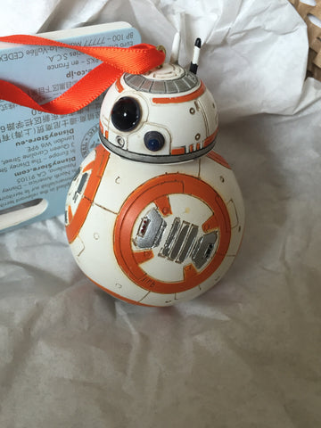 Star Wars: The Force Awakens Bb-8 Sketchbook Holiday Ornament (Disney Store Authentic)