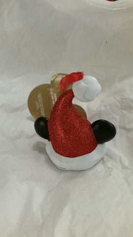 Mickey Ears Santa Hat light clip Holiday Ornament [free ship]