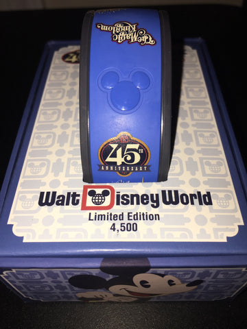 Magic Kingdom 45th Anniversary LE 4500 Magic Band