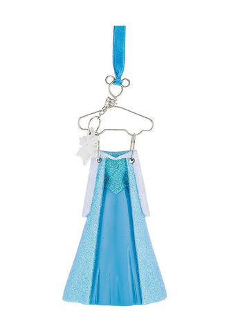 Elsa Costume Hanger Ornament (Disney Parks)