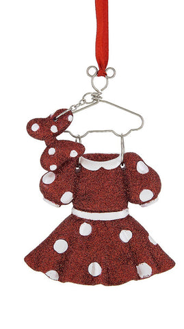 Minnie Mouse Costume Hanger Ornament (Disney Parks)
