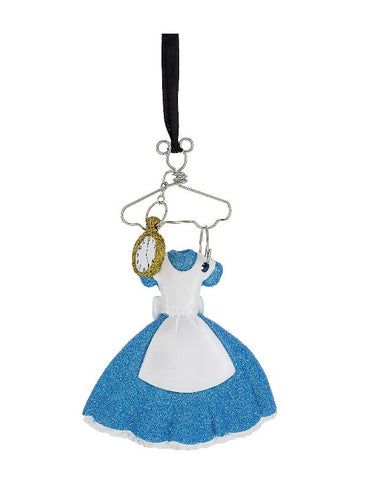 Alice in Wonderland Costume Hanger Ornament (Disney Parks)