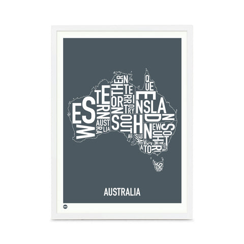 Framed Print Australia at The Bowery