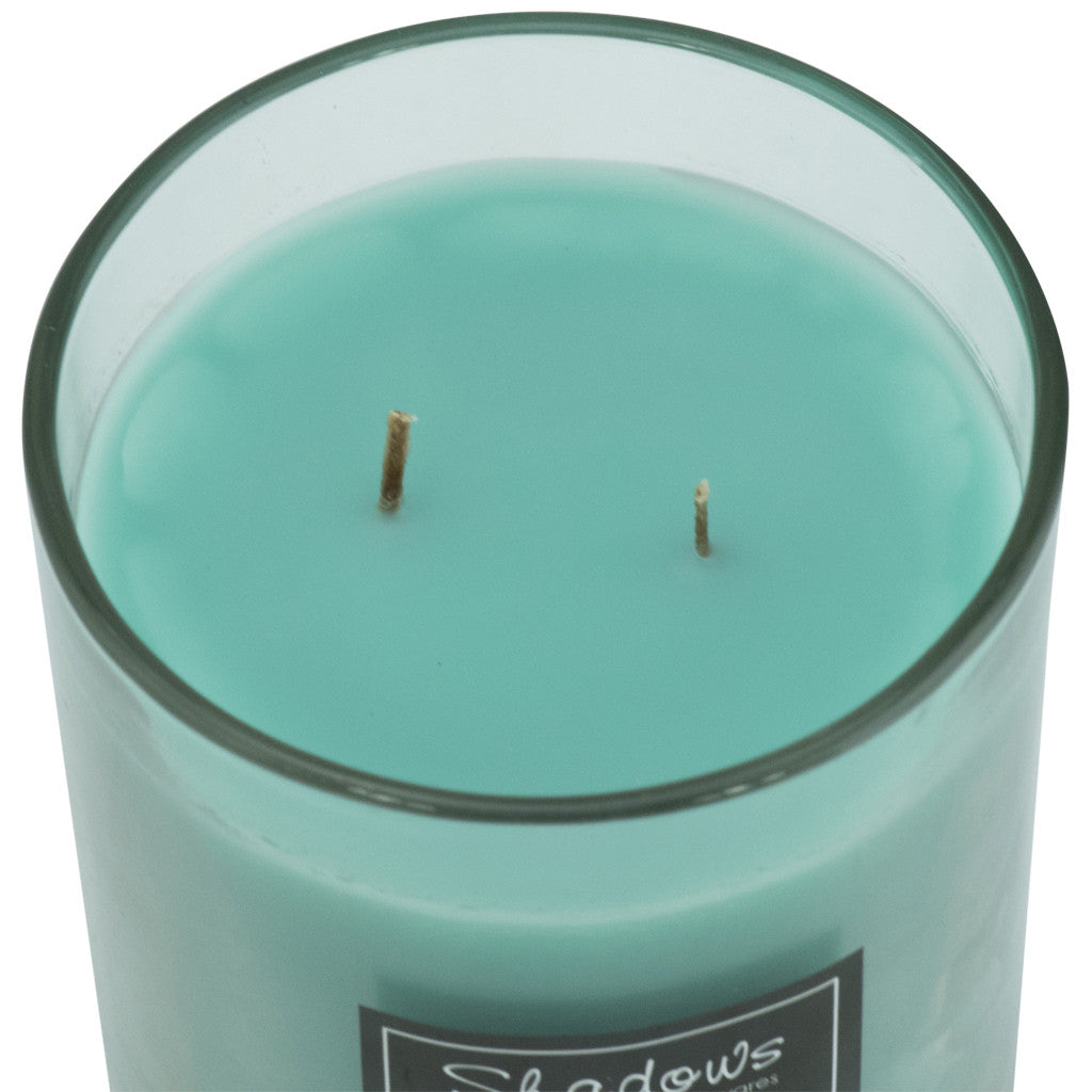 2-Wick Jar Gooseberry & Peach Scented Candle - Wax Candles - The Bowery - 3