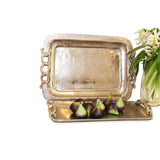 Aluminium Rectangle Tray With Loop Handle 46cm x 34cm - Trays - The Bowery - 2