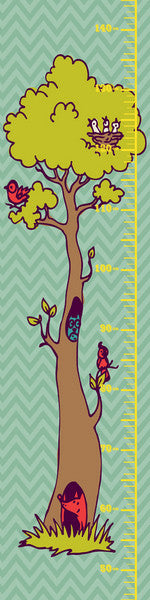 Canvas Height Chart 25CM X 100CM - Height Chart - The Bowery