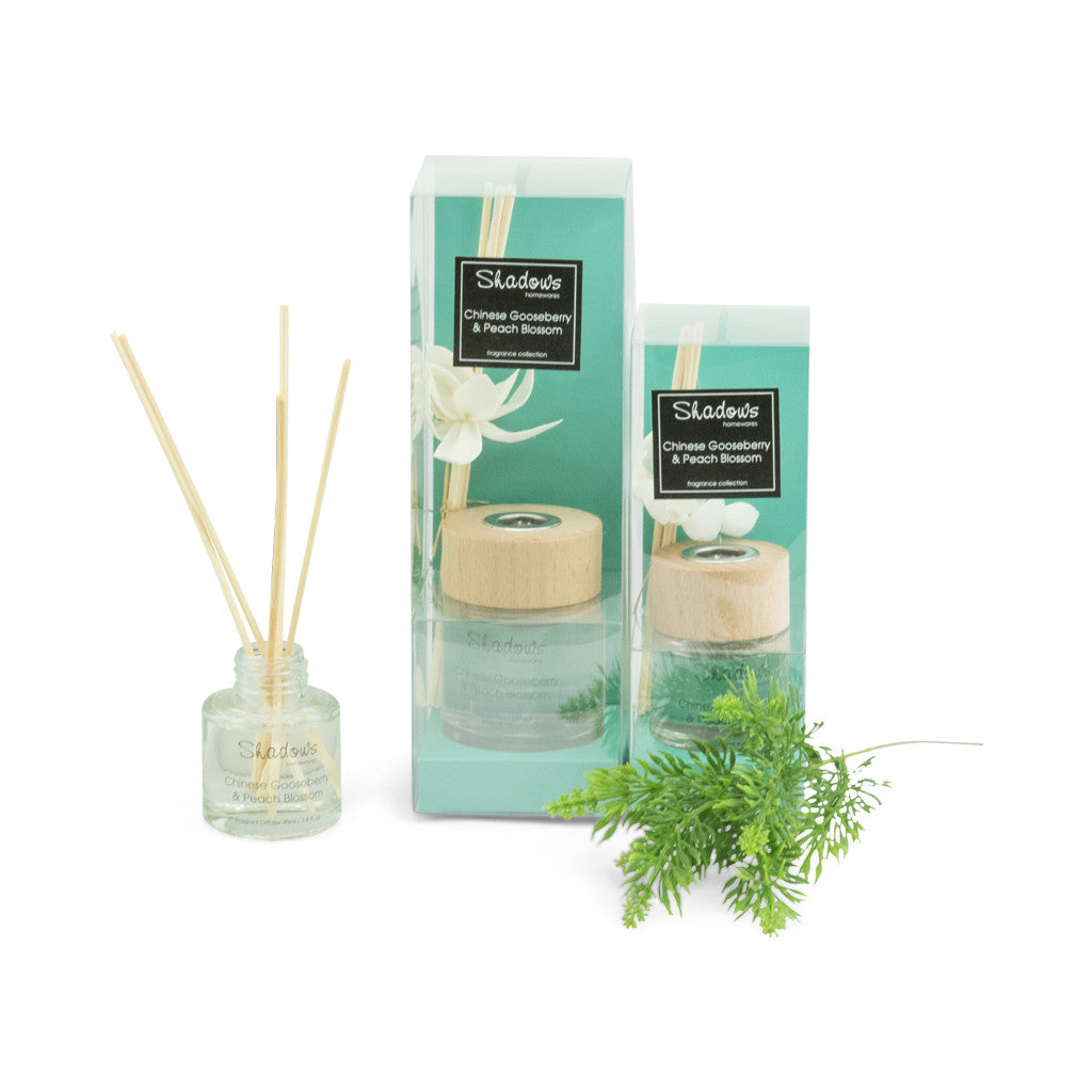 Fragrant Solar Flower Diffuser Gooseberry & Peach, 40 ml - Diffuser - The Bowery - 2