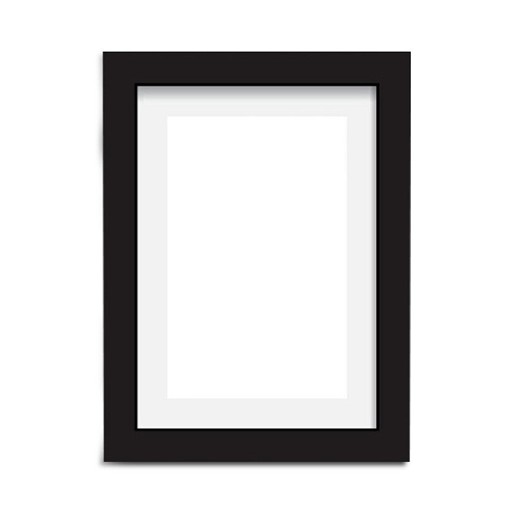 Poster Frame - Black Wood, A4 - Photo Frame - The Bowery