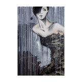 Framed Artwork 'Vogue Girl' 91cm x 61cm - Framed Artwork - The Bowery