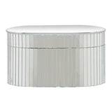 Carlisle Mirror Oval Jewellery Box, 21 cm H - Boxes - The Bowery