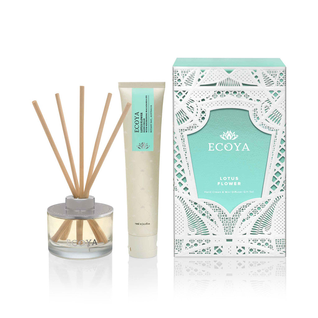 Lotus Flower Christmas Small Gift Pack - Diffuser - The Bowery