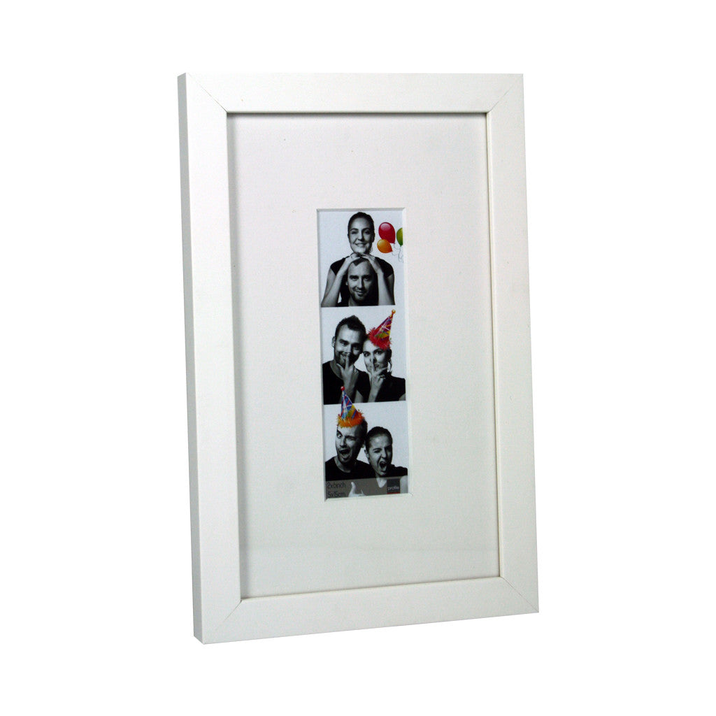 Photobooth White Photo Frame , 15 cm x 25 cm - Photo Frame - The Bowery