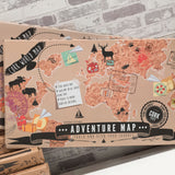 Adventure Map Cork World Map - Maps & Globes - The Bowery - 2