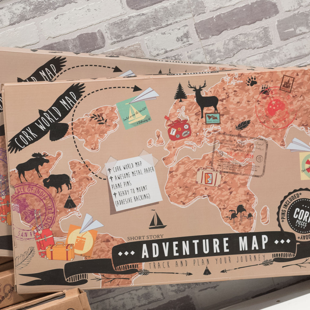 Adventure Map Cork World Map - Maps & Globes - The Bowery - 1