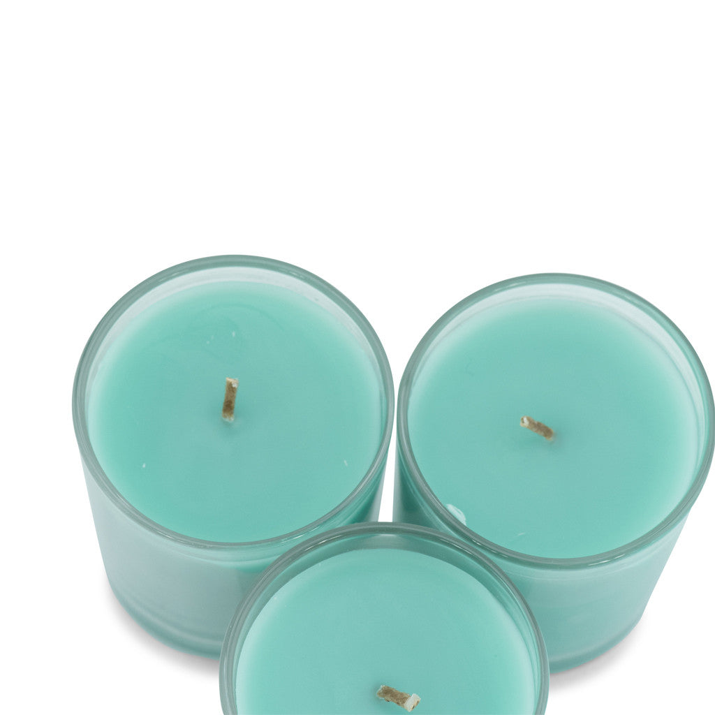 Trio Pack Gooseberry & Peach Scented Candle - Wax Candles - The Bowery - 5