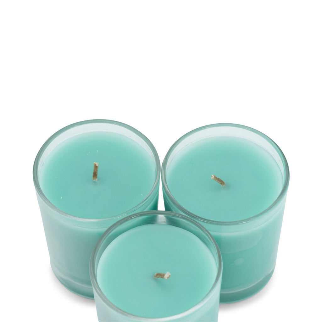 Trio Pack Gooseberry & Peach Scented Candle - Wax Candles - The Bowery - 1