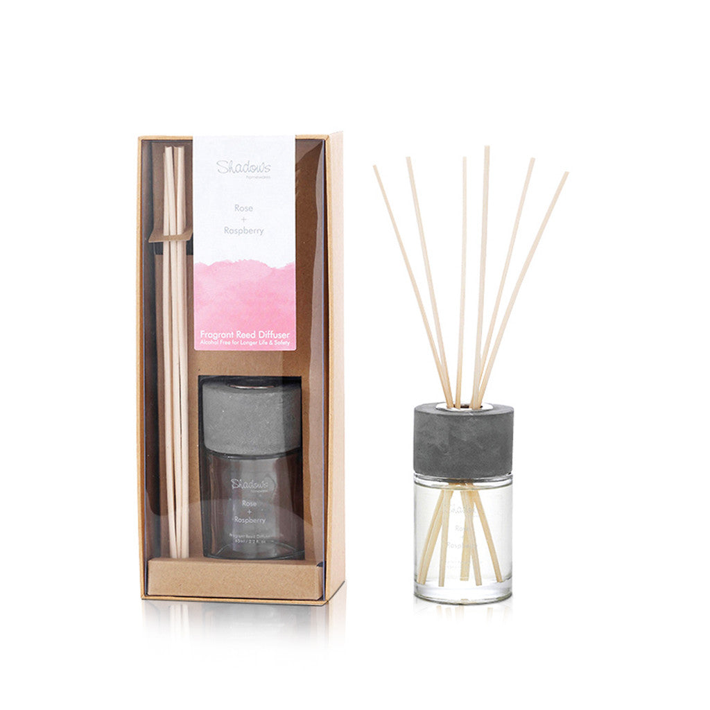 Urbane Fragrant Diffuser Rose And Raspberry 65ml - Diffuser - The Bowery