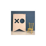 Wooden Plaque 'XO' 30cm x 21cm - Wall Quotes - The Bowery