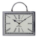 Beale Aluminium Rectangular Table Clock - Table Clocks - The Bowery - 1
