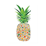 Canvas Print 'Pineapple with Dots'  40cm x 60cm - Canvas Prints - The Bowery