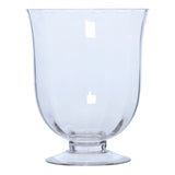 Glass Footed Vase, 30 cm - Vase - The Bowery