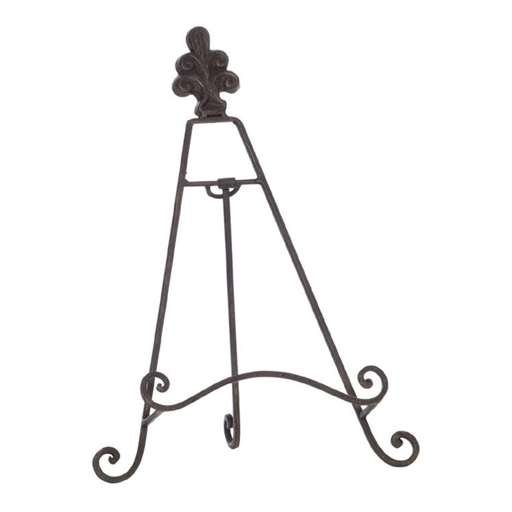 Enfield Rust Iron Easel, 32 cm - Easels - The Bowery