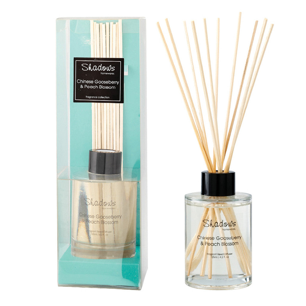 Fragrant Reed Diffuser Gooseberry & Peach, 125 ml - Diffuser - The Bowery - 1