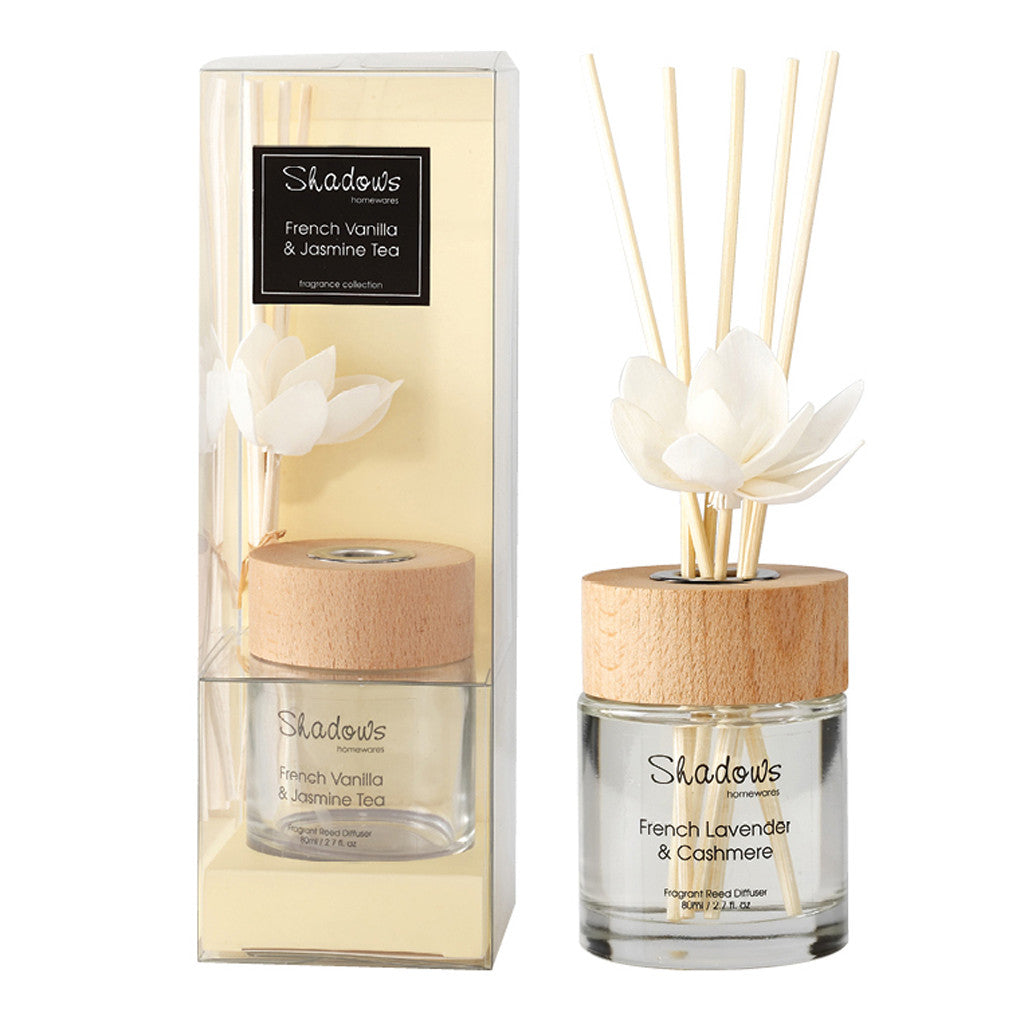 Fragrant Solar Flower Diffuser French Vanilla & Jasmine Tea, 80 ml - Diffuser - The Bowery
