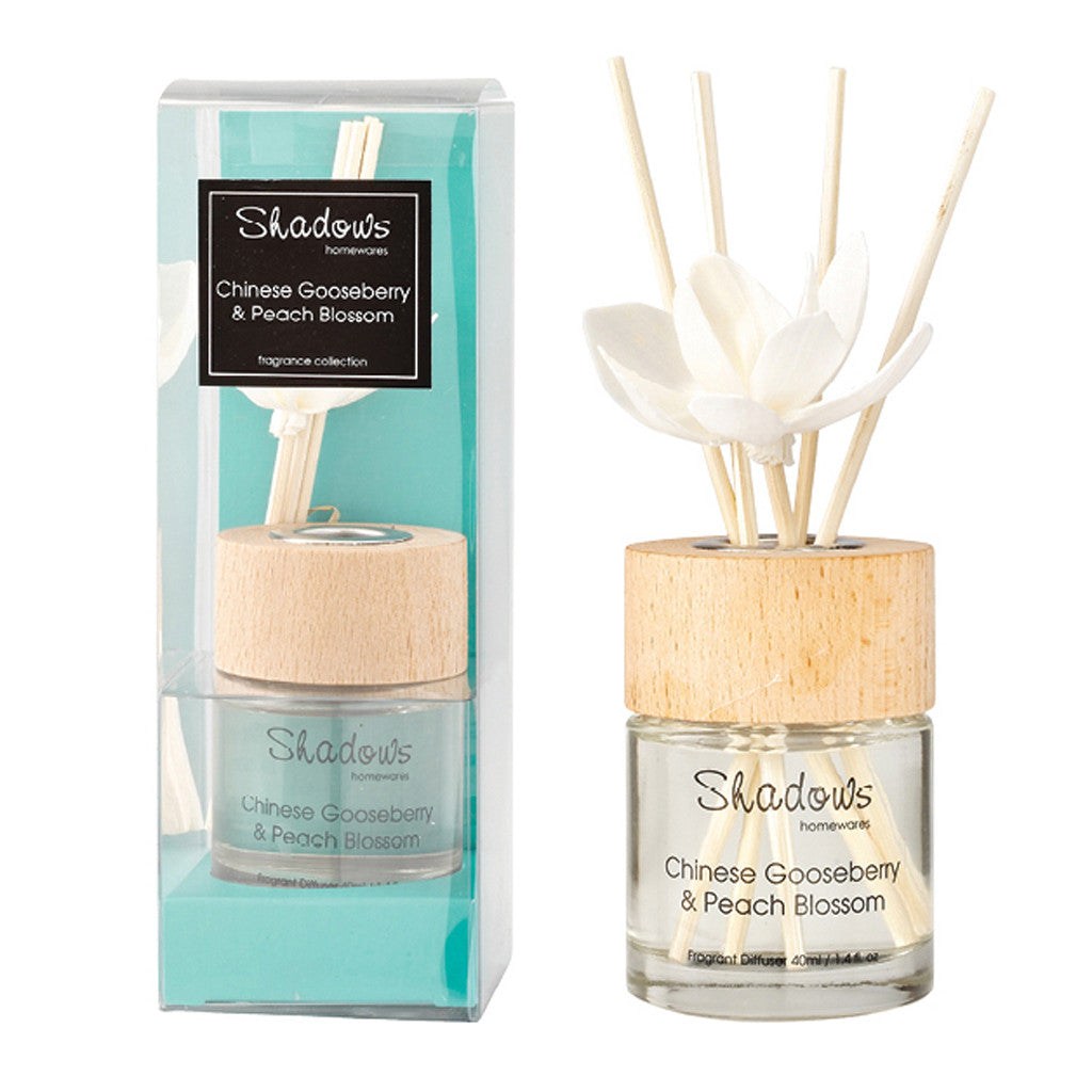 Fragrant Solar Flower Diffuser Gooseberry & Peach, 40 ml - Diffuser - The Bowery - 1