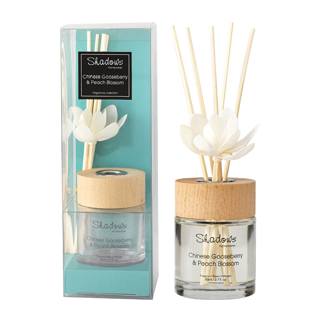 Fragrant Solar Flower Diffuser Gooseberry & Peach, 80 ml - Diffuser - The Bowery - 1