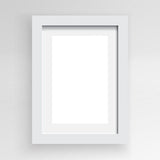 Poster Frame - White Wood, A4 - Photo Frame - The Bowery