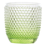 Higgins Glass Dot Lime Votive - Votive Holder - The Bowery