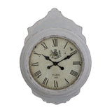 Greywash Wall Clock, 86 cm H - Wall Clocks - The Bowery - 1