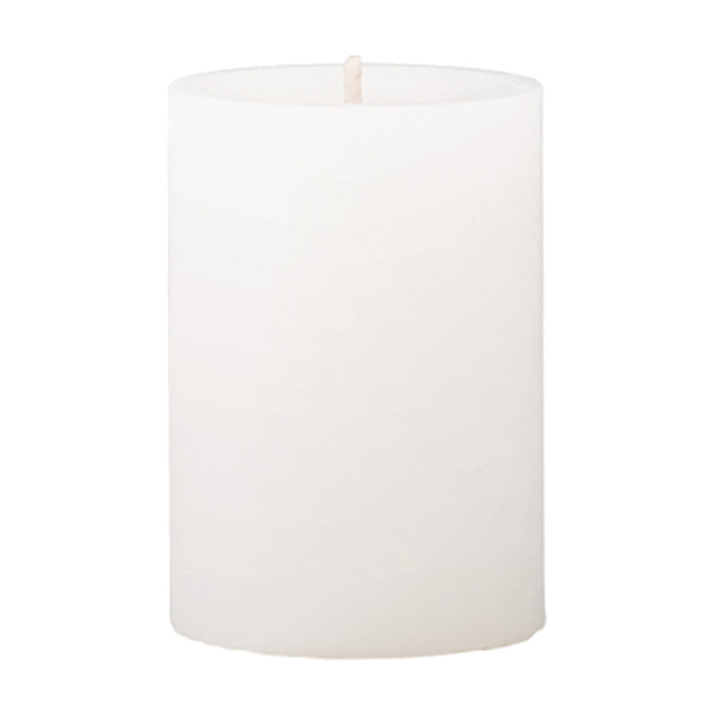 Mini Pillar Fresh Cotton & Lavender Scented Candle - Wax Candles - The Bowery