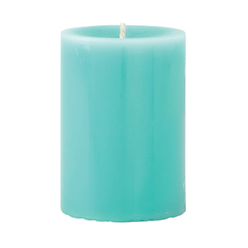 Mini Pillar Gooseberry & Peach Scented Candle - Wax Candles - The Bowery