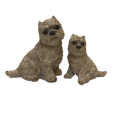 Scottie Dogs Statues, set of 2 - Statues & Figurines - The Bowery