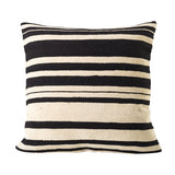 Black & White Stripe Cushion, 50 cm sq. - Cushion - The Bowery