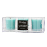 Trio Pack Gooseberry & Peach Scented Candle - Wax Candles - The Bowery - 2