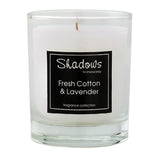 Tumbler Fresh Cotton & Lavender Scented Candle - Wax Candles - The Bowery