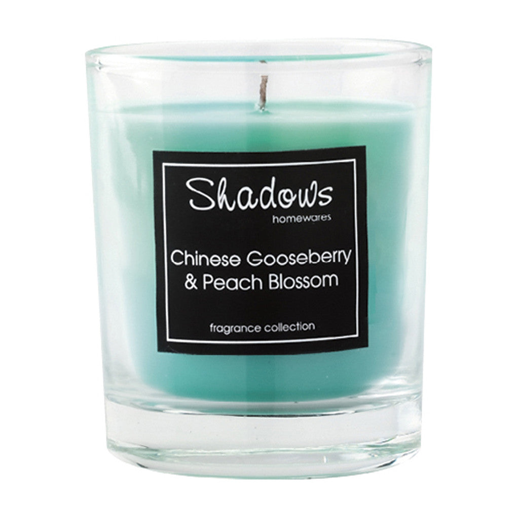 Tumbler Gooseberry & Peach Scented Candle - Wax Candles - The Bowery - 2