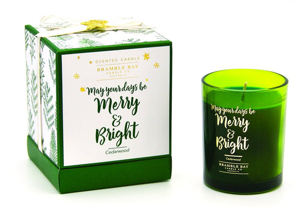 BX Bramble Bay Candle - Merry & Bright
