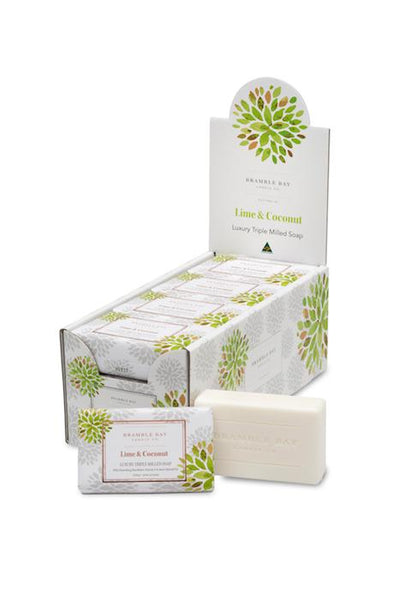 Bramble Bay Lime & Coconut Soap - Made in Australia