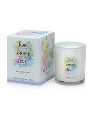 Bramble Bay - Live Laugh Love Candle - French Pear