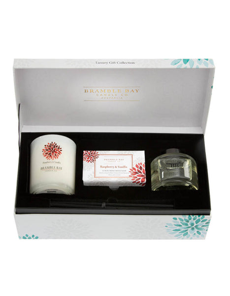 Bramble Bay Gift Box -  Raspberry and Vanilla