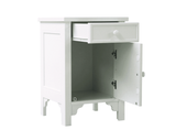 Romantic White Nightstand